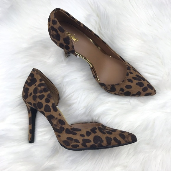 Mossimo Supply Co. Shoes - Mossimo Leopard Animal Print Pump Sz 8